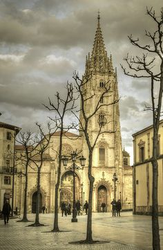 Catedral de Oviedo. Oviedo's Cathedral, Spain. #fineart #photography #Spain
