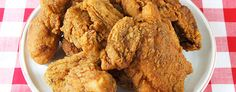 Fried chicken recipe is similar to KFC's
