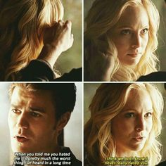 Season 6 Episode Caroline and Stefan Vampire Diaries Season 5, Vampire Diaries Cast, Vampire Diaries The Originals, Stefan E Caroline, Caroline Forbes, Aesthetic Names For Instagram, Vampire Barbie, The Salvatore Brothers, Tv Show Couples