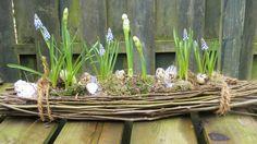 Leuk voorjaars- / Paasstukje voor op de tuintafel