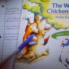Activities to go with the Wolf's Chicken Stew
