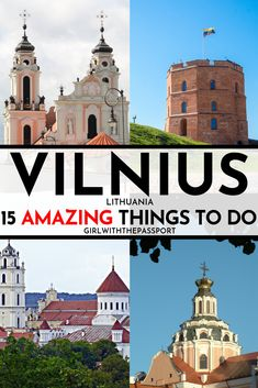 Not sure what to do in Vilnius, Lithuania? Not sure what to do in Vilnius, Lithuania? Then check out this expert's guide. It's filled with secret tricks and tips about 15 of the best things to do in Vilnius if you want to create the trip of a lifetime. European Vacation, European Destination, European Travel, Travel Tips For Europe, Backpacking Europe, Travel Destinations, Lithuania Travel, Albania, Travel Guides