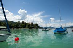 Klagenfurt beach resort / Lake Wörthersee. Photo: Franz Gerdl Klagenfurt, Beach, River, Places, Summer, Outdoor, Beautiful, Outdoors, Summer Time
