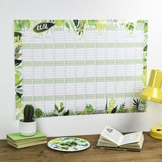 Plant Wall Calendar // NEED THIS