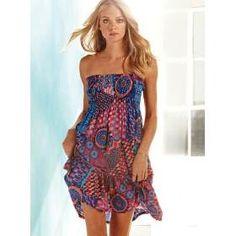 vestidos de playa cortos