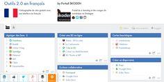 Portail Skoden: répertoire des Outils 2.0 en français