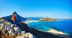 Kreeta – tällainen on Kreikan monipuolisin saari - Kerran elämässä Green Landscape, Mountain Landscape, Balos Beach, Beach Wallpaper, Hd Wallpaper, Wallpapers, Hidden Beach, Crete Greece, New Travel