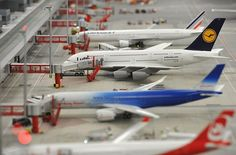 The world's largest model airport has opened at Miniatur Wunderland in Hamburg, Germany, which is also home to the world's largest model railway landscape.