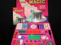 Raleigh Vintage Magic - Past Magic Sales Magic Sets, Magic Book, Magic Tricks, Arcade Games, The Magicians, Over The Years, Past, Sticker, Toys