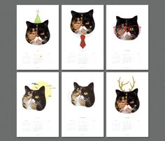 @Holly Adams....should we get this? Haha....Cat 2013 Calendars & Stickers