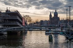 Sunrise over Amsterdamn Photography by Nick Laborde