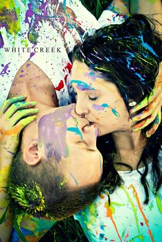 paint fight   Tumblr