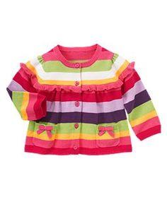 Stripe Sweater Cardigan $24.50