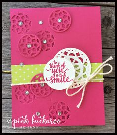 Melon Mambo and Lemon Lime Twist Eastern Elegance Card (Stampin' Up!) Designed by Erica Cerwin @ Pink Buckaroo Designs