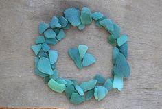 Blue Green Beach Glass Pale Teal Sea Glass Genuine Sea Glass Craft Supplies Natural Bulk Sea Glass DIY Art Supplies Sea glass for Jewelry