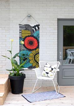 DIY outdoor art/decor