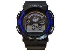 Relógio Masculino Kikos RK01 Digital - Resistente à Água com Alarme e Calendário com as melhores condições você encontra no Magazine Raayvanessa. Confira!