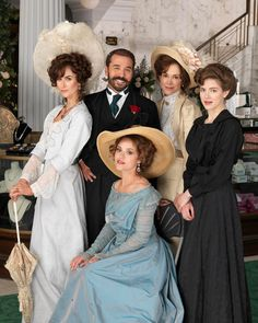 Mr Selfridge Costumes - Love how they dressed during this time period.  Very classy looking ladies.