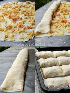 placinta cu mere 2 Strudel, Sweets Recipes, Baby Food Recipes, Baking Recipes, Romania Food, Romanian Desserts, Pastry And Bakery, Apple Desserts, Desert Recipes