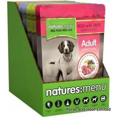 Natures Menu Dog Multipack 8 x 300g Natures Menu Dog Multipack is now available and ideal for holiday breaks and your weekly needs it  the Natures Menu ADULT DOG MULTI PACK.
