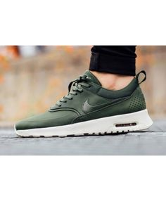 Nike Air Max Thea Carbon Green Trainer