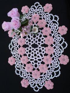 corded floral centerpiece by ferosah