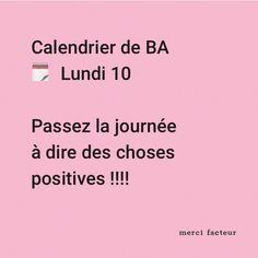 Gardez une attitude positive ;) (Vous pouvez même partager vos pensées positives avec une jolie carte ) #MondayMotivation