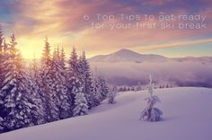 The Travel Post #6: Getting ready for your first ski break | A much prettier puzzle