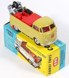 Corgi Toys 490 VW Breakdown Truck   .....................................Please save this pin.   ............................................................. Click on this link!.. http://www.ebay.com/usr/prestige_online