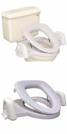 Toilet Seats: Raised Toilet Seat Elevated With Arms Handles For ...