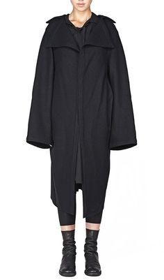 Yohji Yamamoto FB Lapel Big Coat