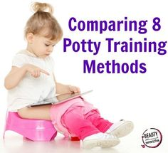Comparison of all the different potty training methods. She walks you through the most popular modern methods of potty training and shows you how to pick the best one for your child's personality!
