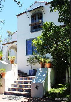 Mediterranean Style Home exterior