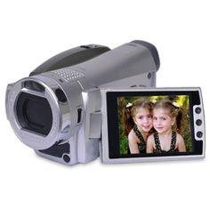 Tashika DV8000 5.0MP (Interpolated) Digital Camcorder/Camera w/4x Digital Zoom 3.0 LCD & Case (Silver)