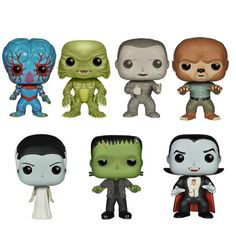 Universal Monsters POP Vinyls Unvailed  - NEED THESE