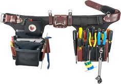 Occidental Leather 9596 Adjust-to-Fit™ Industrial Pro Electrician Tool Bag Set
