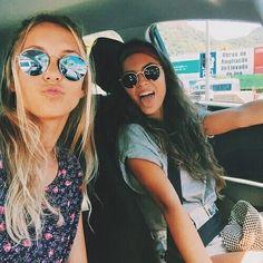 friends, summer, and car Bild