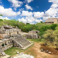 Ek Balam - Black Jaguar #yucatan #archaelogy #ruins #archaeologicalsites #visitmexico #mexico #mexico_maravilloso #méxico #mexico2017 #temple #observatory #skyporn #travel #dtdtravels #DOTHEDANIEL #traveling #adventure #discover #explore #jungle