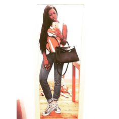 #tbt @motherdenim jeans @converse shoes @hermes bag vintage T and my #pitbull baby photobombing in the background. _____________________________________________________________  #fashioneditor  #newyorkstyle #luxury  #instagood #instafashion #photooftheday #streetstyle #fashionblogger  #ootd #style #fashion #etceteramodus #marydyann #girlboss #fashionstylist  #luxuryfashion  #instastyle #fashionista  #instadaily  #fashiongram  #instalike #melanin #wiw #styleiswhat #fashionstyle #latergram…