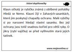 Měkké a tvrdé souhlásky (vybarvování, doplňovačky, práce s textem) - Moje čeština - Čeština na internetu zdarma Math Equations