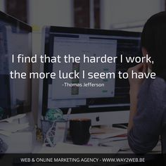 Fortune favors those who WORK HARD..!!