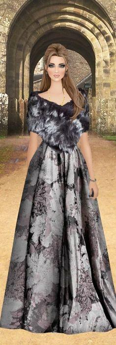 Covet Fashion, Women's Fashion, Fashion Outfits, Maxi Outfits, Cool Sketches, Fashion Illustrations, Fashion Dolls, Diva, Dresses
