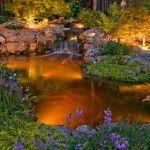 Lumière intégrée dans un bassin ©inconnu