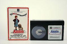 The Movie of Tomorrow Annie - Beta Betamax movie Rare
