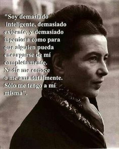 Simon de  Beauvoir.