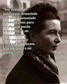 Simon de  Beauvoir.