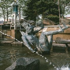 Fountain, Explore, Park, Outdoor Decor, Photography, Photograph, Fotografie, Water Fountains, Parks