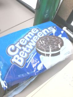 LMFAOOOOO! Creme Betweens!?!???? toooo funny. These very literal would-be Oreos.   30 Knockoff Products That Are Almost Better Than The Real Thing