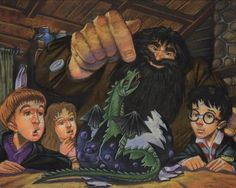 The Creatures of Harry Potter and the Sorcerer's Stone, Deluxe Coloring Kit Harry Potter Colors, Harry Potter More, Harry Potter Artwork, Harry Potter Merchandise, Harry Potter Drawings, Saga, Harry Potter Halloween, The Sorcerer's Stone, Harry Potter Collection