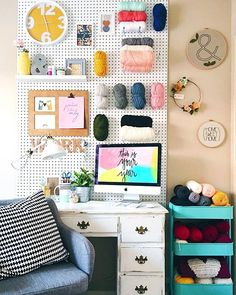 Finally finished cleaning and organizing my office today. I also had time to mess around with the new @acolorstory app, and you guys I'm obsessed! I edited this picture with the punch filter.